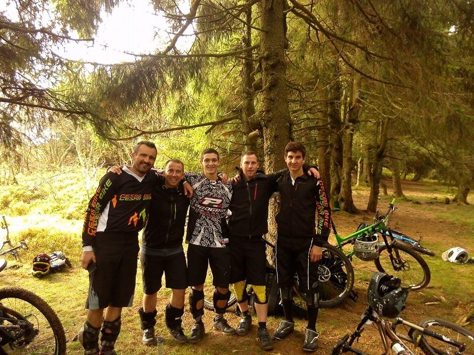 equipe cesarbike pilatrack